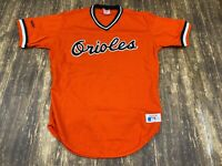 VTG Baltimore Orioles Rawlings Orange MLB Baseball Jersey - Size 38