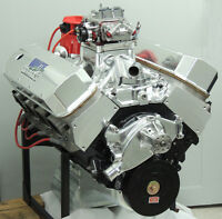 BIG BLOCK CHEVY BBC 572 ENGINE 752HP, H-BEAM, HYD ROLLER,  CRATE MOTOR