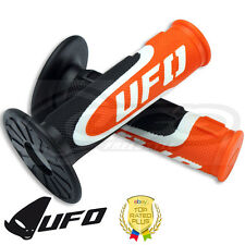 UFO Axiom Grips - Tripple Density Grips - Motocross Handlebar Grips - KTM Orange