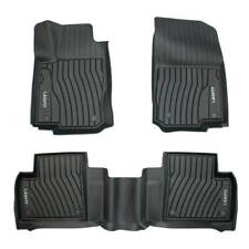 Floor Mat for Mercedes Benz Gle350 2016-2019 1st+2nd Rows Heavy Duty All Weather