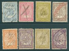 TRANSVAAL 1886 used Fiscal/Revenue stamps to £2