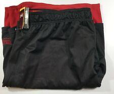 Everlast Sport Reversible Short for Men's 44 Black Red NWT 100% Cotton