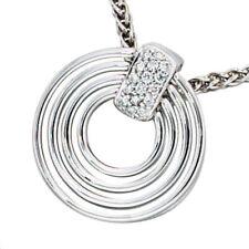 Runde Echtschmuck-Halsketten & -Anhänger für besondere Anlässe-Diamant
