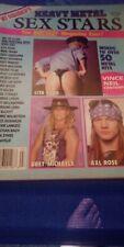 Hit Paraders Heavy Metal Sex Stars Nikki Sixx Lita Ford Steve Tyler Sebastian.