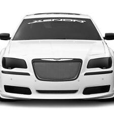 Fits 11-14 Chrysler 300 GTS Smoke Acrylic Headlight Fog Driving Covers 4pc Set