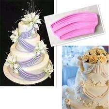 Ribbon Swag Mould Silicone Fondant Border Icing Baking Decorating Cake Mold Jian