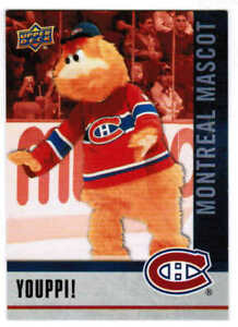 2021 UPPER DECK NATIONAL HOCKEY CARD DAY YOUPPI! M-10 MONTREAL CANADIENS MASCOT