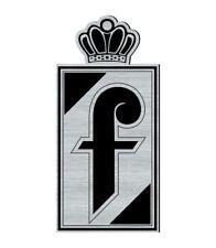 Logo adhésif gravé PININFARINA Lancia Fiat Peugeot Alfa - 6cm x 3cm - ép.1,6mm
