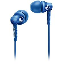 Philips SHE8100BL In-Ear Headphones 8.6mm drivers SHE8100 Blue
