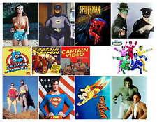 SUPER HERO PHOTO-FRIDGE MAGNETS 12 IMAGES