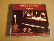 CD / GUUS MEEUWIS & VAGANT - VERBAZING