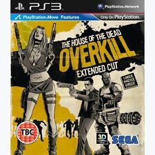 The House of the Dead: Overkill - Extended Cut PS3 - Brand New & Sealed
