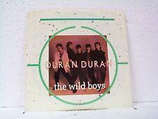 "DURAN DURAN ""THE WILD BOYS"" 45 w/ PS MINT UNPLAYED"