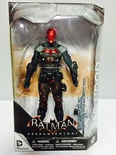 "DC BATMAN ARKHAM KNIGHT VIDEO GAME RED HOOD 7"" inch ACTION FIGURE 17cm"