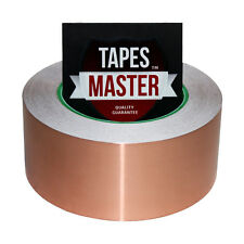 """2"""" x 36 yds (50mmx33m) Copper Foil Tape / EMI Conductive Adhesive Ship from USA"""