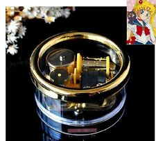 Gorgerous Circle in Gold Music Box : Sailor Moon Theme Soundtrack