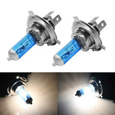 2PCS H4 100W Halogen 6000K Hi/Lo Beam Light Headlight P43T 12V Xenon White New