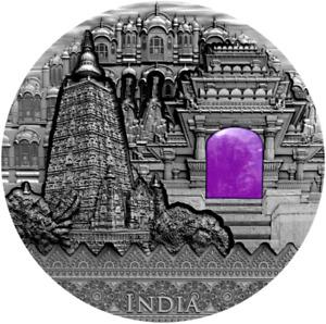 INDIA Imperial Art 2 Oz Silver Coin 2$ Niue 2020