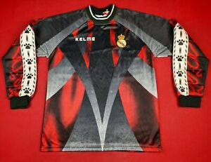 NWT 1996-97 Real Madrid Goalkeeper BUYO Kelme Shirt Jersey kit Camiseta