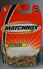 Matchbox Superfast H5852 No 57 Volkswagen W12 Concept - Still Sealed