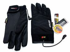 Gerbing's Heated Clothing Gloves Liner 12V Power Size Unisex Black Size 2XS