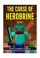 The Curse of Herobrine: The Ultimate Minecraft Comic Book Volum... Free Shipping