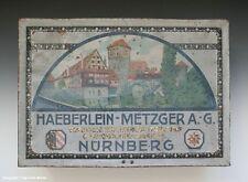 Blechdose HAEBERLEIN-METZGER A.G. NÜRNBERG um 1920