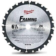 Milwaukee FRAMING TCT WOOD CUTTING CIRCULAR SAW BLADE 165mm 24T, 16mm Bore