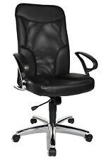 Chefsessel Bürostuhl Drehstuhl Bürosessel Topstar Airway echt Leder Netz B-Ware