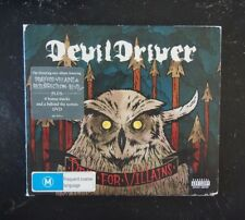 CD + DVD - DevilDriver, Pray For Villains - 2009 Roadrunner Records ‎RR 7875-5