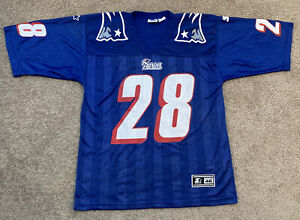 Vintage NFL New England Patriots Curtis Martin Starter Jersey #28 / Sz 46 Medium