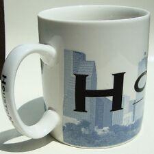 Vintage 2002 Starbucks Coffee Skyline Series HOUSTON SPACE CITY Mug Cup Texas TX