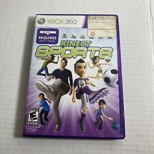 Kinect Sports Xbox 360 Video Game Free Ship Complete Good Condition