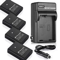 EN-EL14a Battery & Charger for Nikon D5500 D5300 D5200 D5100 D3300 Coolpix P7000