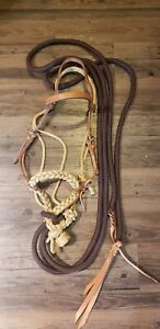 Loping Hackamore Western Horse Training Tack Professionals Choice Bridle