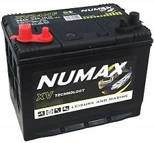 12V 86AH Numax XV24MF Dual Purpose Battery Leisure & Marine Range x 2 one pair