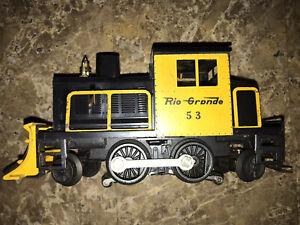 Lionel 53 Vintage O Rio Grande Powered Snowplow Switcher