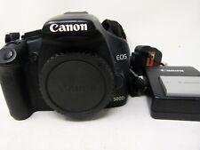 Cámara SLR Canon EOS 500D 15.1MP Digital Cuerpo Solamente-Negro-Usado