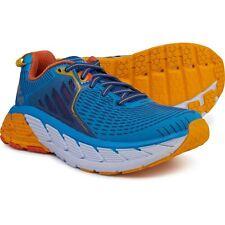 HOKA ONE ONE Women's Gaviota Running Shoe  SIZE 5  DRESDEN BLUE/ GOLD FUSION NIB