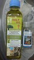 Jerusalem unscented  pure holy oil ,  300 ml and holy water 50 ml EXCLUSIVE !!