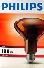 Philips Infrarotlampe 100W 230V R95 E27 Infrarot Infrarotlicht 145598xx Infrared