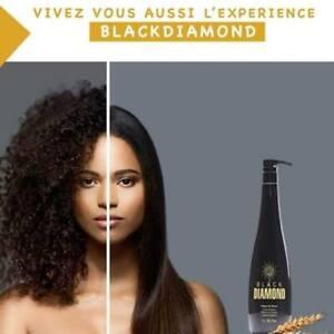 Black Diamond protein Hair Straightening Cream - Formaldehyde-Free 1000 ml USA