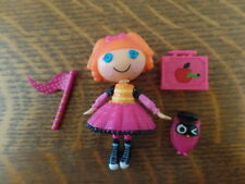Lalaloopsy Mini Bea Spells a Lot Doll Pet and Accesssories from Bea's School Bus