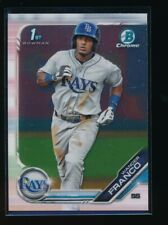 WANDER FRANCO 2019 1st Bowman Chrome Prospect Tampa Bay Rays Rookie Card RC QTY