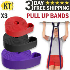 Pull Up Bands Heavy Duty Resistance Band for Gym Exercise Fitness Workout Set US