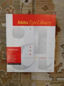 Adobe Caslon Type 1 Postscript Font Package