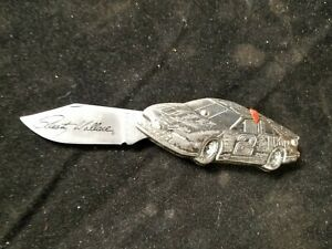 United UC1126 Action 3209 Rusty Wallace No. 2 Folding Pocket Knife