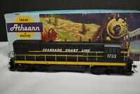 Athearn - U33 B GE Powered Diesel SEABOARD COAST LINES #1733 HO Scale w/box