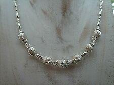Silberkette mit Kugeln, Silber 925