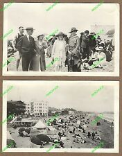 5 Antique Photos 1920 VENICE BEACH / REDONDO BEACH Moonstone CALIFORNIA Old Pier